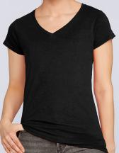 Softstyle® Ladies` V-Neck T-Shirt